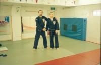 Graham Lelliott och Ingmar första resan till Jersey UK 1991