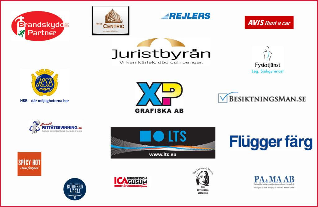 sponsorsida med logo